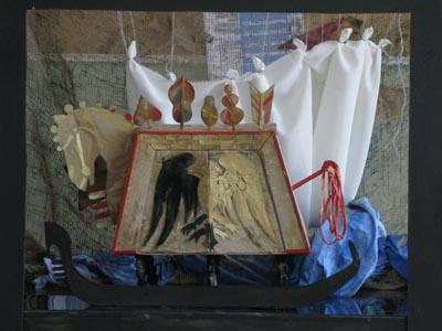 Макет декораций к пьесе К.Гоцци