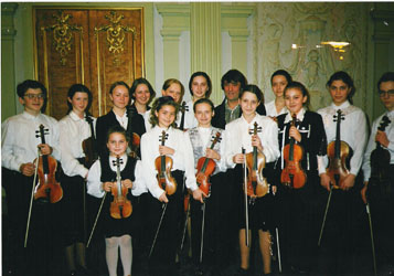 КМТИ№61, Ю. Башмет с творческим коллективом школы