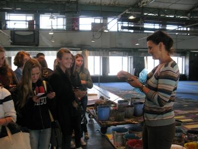 Вручение студенческих билетов в мастерских ГАБТ